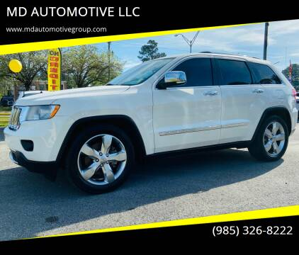 2012 Jeep Grand Cherokee for sale at MD AUTOMOTIVE LLC in Slidell LA