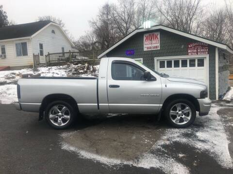 2002 Dodge Ram Pickup 1500 for sale at KMK Motors in Latham NY
