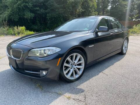 2011 BMW 5 Series for sale at GEORGIA AUTO DEALER, LLC in Buford GA