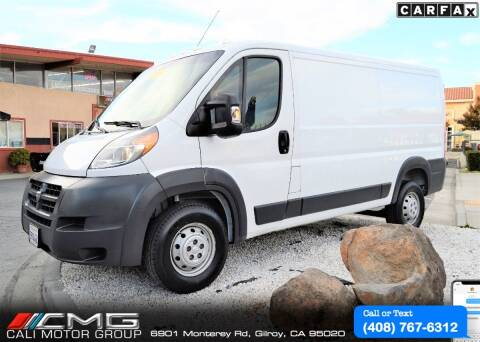 2016 RAM ProMaster Cargo for sale at Cali Motor Group in Gilroy CA