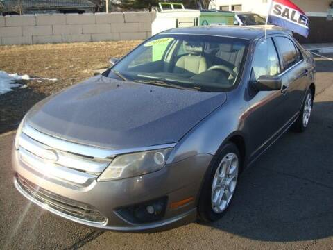2010 Ford Fusion for sale at MOTORAMA INC in Detroit MI