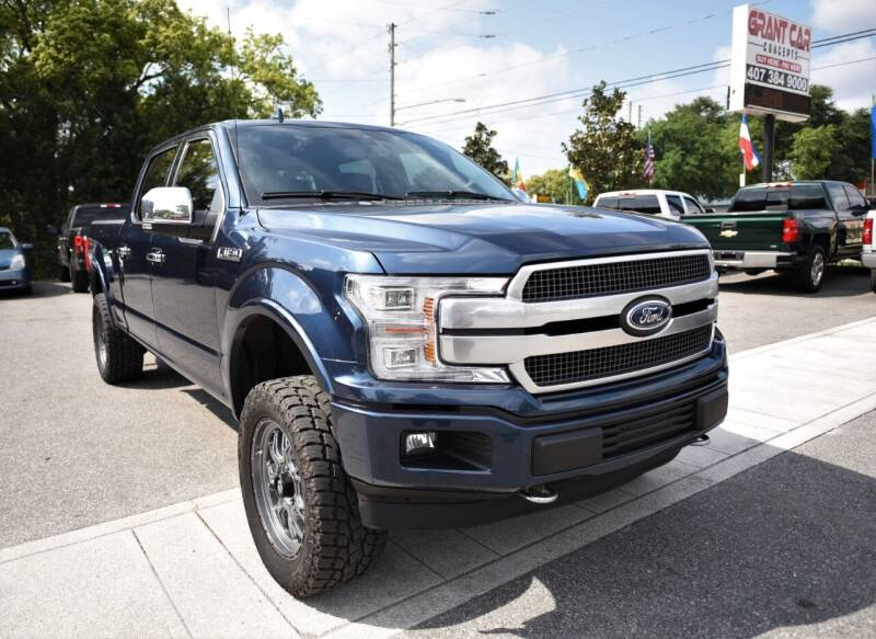 2019 Ford F-150 for sale at Grant Car Concepts in Orlando FL