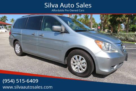 2009 Honda Odyssey for sale at Silva Auto Sales in Pompano Beach FL