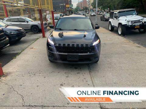 2016 Jeep Cherokee for sale at Raceway Motors Inc in Brooklyn NY