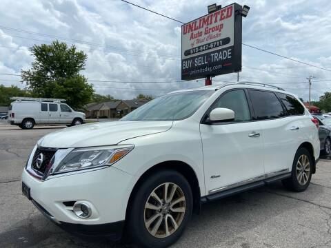 2014 Nissan Pathfinder Hybrid for sale at Unlimited Auto Group in West Chester OH