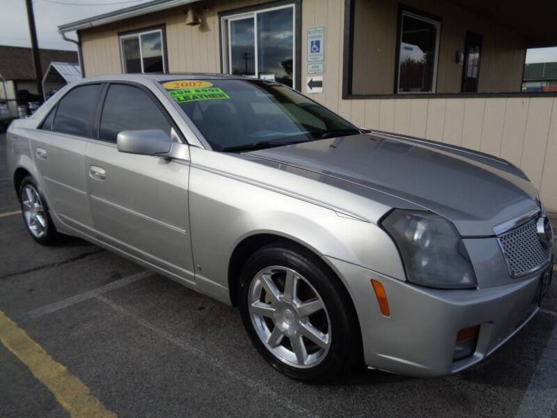 2007 Cadillac CTS for sale at BBL Auto Sales in Yakima WA