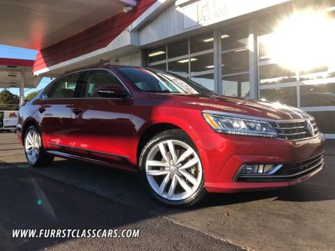 2017 Volkswagen Passat for sale at Furrst Class Cars LLC in Charlotte NC