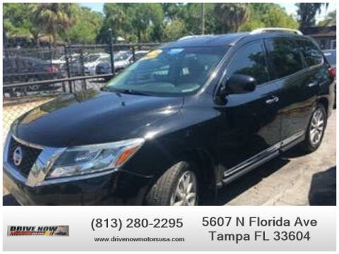 2014 Nissan Pathfinder for sale at Drive Now Motors USA in Tampa FL