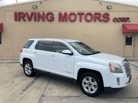 2012 GMC Terrain for sale at Irving Motors Corp in San Antonio TX