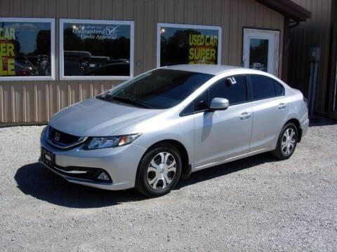 2013 Honda Civic for sale at Greg Vallett Auto Sales in Steeleville IL
