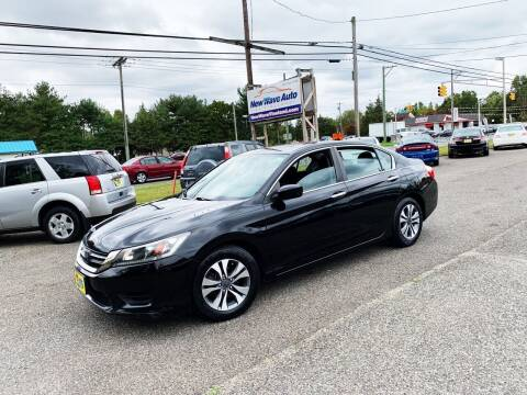 2013 Honda Accord for sale at New Wave Auto of Vineland in Vineland NJ