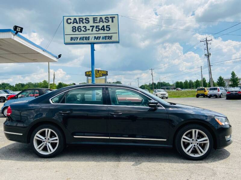 2013 Volkswagen Passat for sale at Cars East in Columbus OH