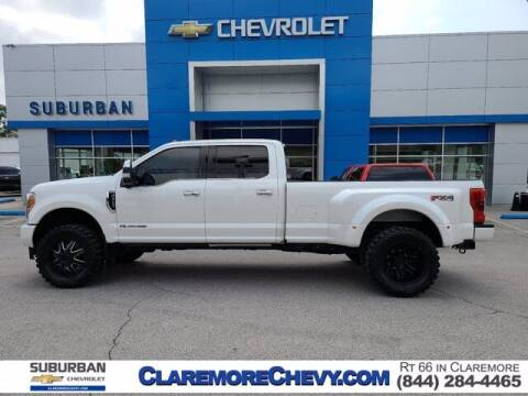 2017 Ford F-350 Super Duty for sale at Suburban Chevrolet in Claremore OK