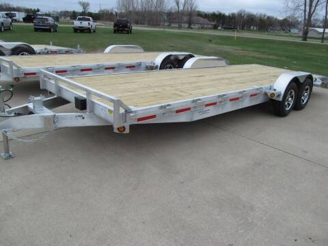2022 Quality Steel 24' ALUMINUM CAR HAULER for sale at Flaherty's Hi-Tech Motorwerks in Albert Lea MN