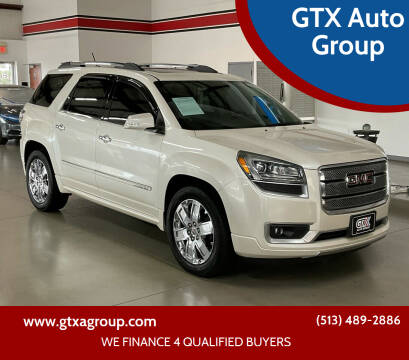2013 GMC Acadia for sale at GTX Auto Group in West Chester OH