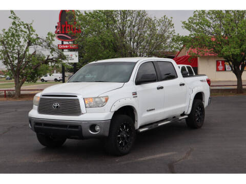 2012 Toyota Tundra for sale at Terry Halbert Auto Sales in Yukon OK