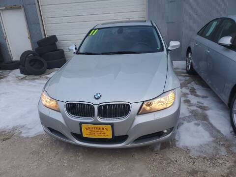 2011 BMW 3 Series for sale at Brothers Used Cars Inc in Sioux City IA