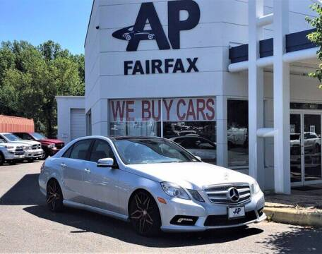 2011 Mercedes-Benz E-Class for sale at AP Fairfax in Fairfax VA