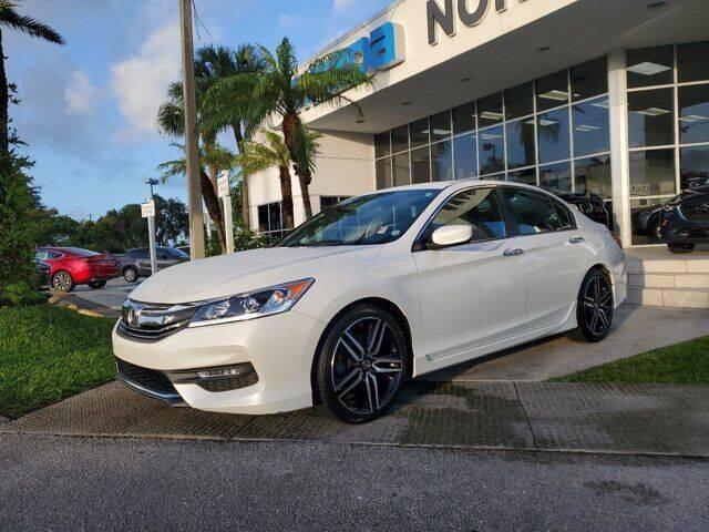 2017 Honda Accord for sale at Mazda of North Miami in Miami FL