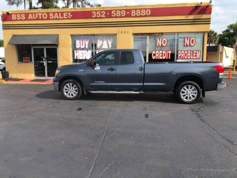 2007 Toyota Tundra for sale at BSS AUTO SALES INC in Eustis FL