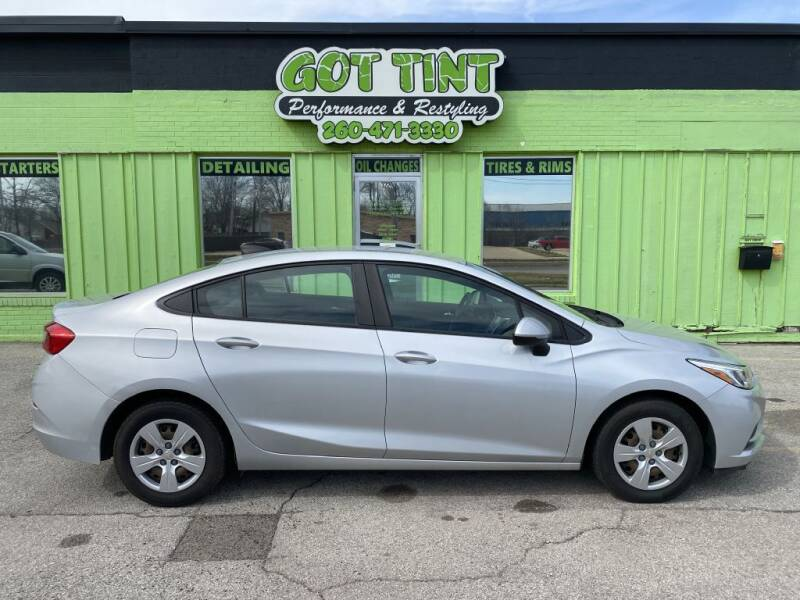 2017 Chevrolet Cruze for sale at GOT TINT AUTOMOTIVE SUPERSTORE in Fort Wayne IN
