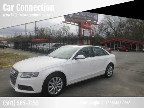 2012 Audi A4 for sale at Car Connection in Little Rock AR