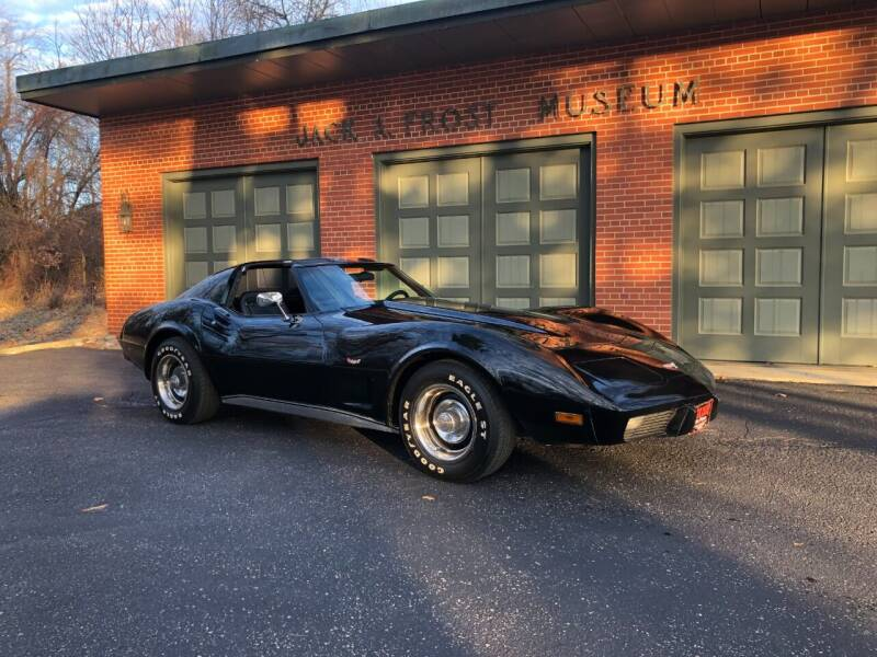 1977 Chevrolet Corvette for sale at Jack Frost Auto Museum in Washington MI
