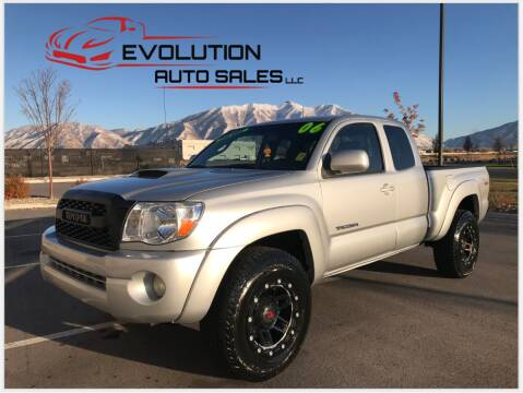 2006 Toyota Tacoma for sale at Evolution Auto Sales LLC in Springville UT