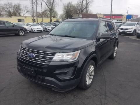2016 Ford Explorer for sale at Nonstop Motors in Indianapolis IN