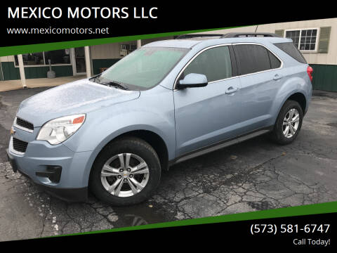 2015 Chevrolet Equinox for sale at MEXICO MOTORS LLC in Mexico MO