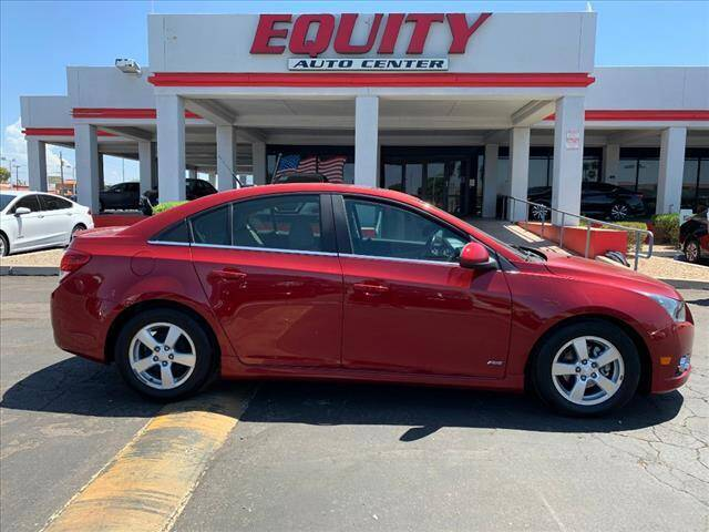 2012 Chevrolet Cruze for sale at EQUITY AUTO CENTER in Phoenix AZ