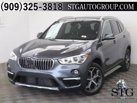 2017 BMW X1 for sale at STG Auto Group in Montclair CA