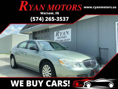 2006 Buick Lucerne for sale at Ryan Motors LLC in Warsaw IN