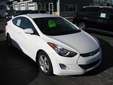 2013 Hyundai Elantra for sale at CLASSIC MOTOR CARS in West Allis WI