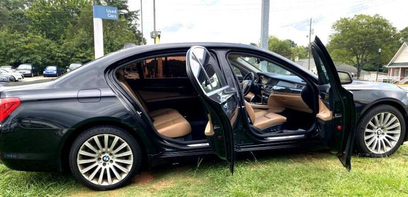 2011 BMW 7 Series for sale at Pars Auto Sales Inc in Stone Mountain GA