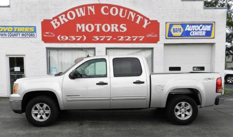 2011 GMC Sierra 1500 for sale at Brown County Motors in Russellville OH