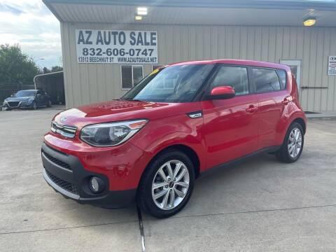 2018 Kia Soul for sale at AZ Auto Sale in Houston TX