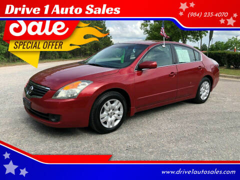 2009 Nissan Altima for sale at Drive 1 Auto Sales in Wake Forest NC