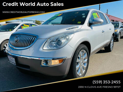 2011 Buick Enclave for sale at Credit World Auto Sales in Fresno CA