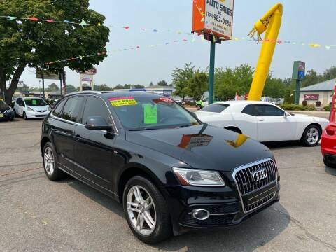 2013 Audi Q5 for sale at TDI AUTO SALES in Boise ID