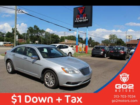 2011 Chrysler 200 for sale at Go2Motors in Redford MI