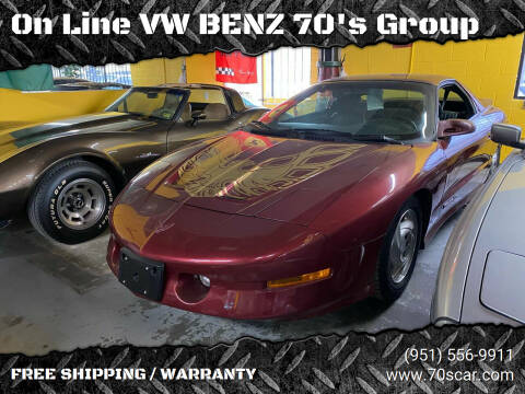 1994 Pontiac Firebird for sale at OnLine VW-BENZ.COM Auto Group in Riverside CA