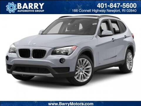 2014 BMW X1 for sale at BARRYS Auto Group Inc in Newport RI
