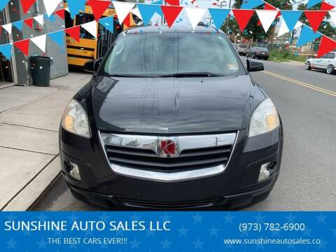 2007 Saturn Outlook for sale at SUNSHINE AUTO SALES LLC in Paterson NJ
