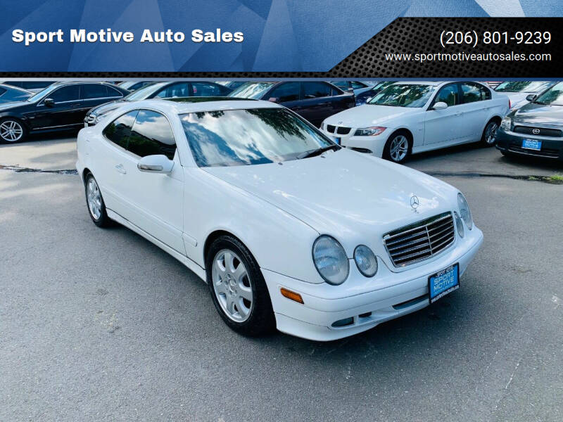 2001 Mercedes-Benz CLK for sale at Sport Motive Auto Sales in Seattle WA