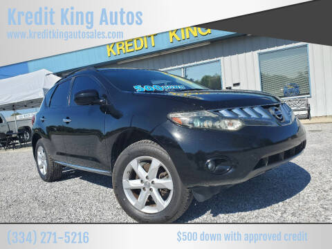 2009 Nissan Murano for sale at Kredit King Autos in Montgomery AL