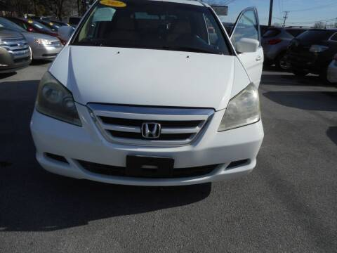 2007 Honda Odyssey for sale at Elite Motors in Knoxville TN