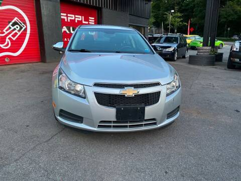 2012 Chevrolet Cruze for sale at Apple Auto Sales Inc in Camillus NY