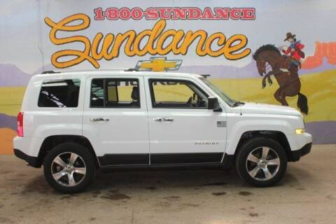 2016 Jeep Patriot for sale at Sundance Chevrolet in Grand Ledge MI