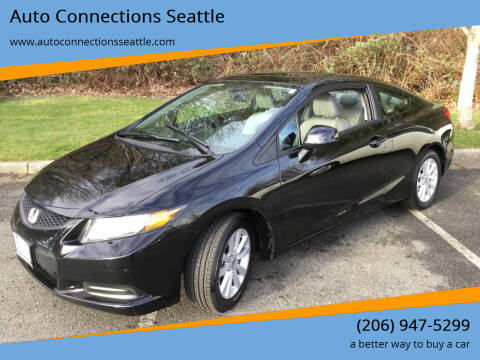 2012 Honda Civic for sale at Auto Connections Seattle in Seattle WA